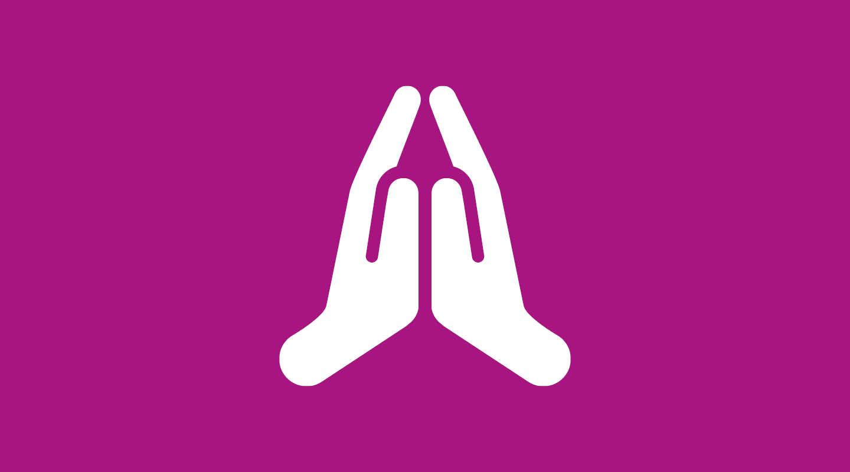 Bönewebben händer