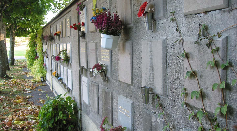 Gravskick kolumbarium på Lidingö kyrkogård