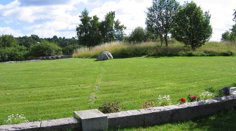 Gravskick vilokullen på Lidingö kyrkogård