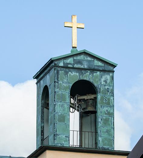 Klocktorn breviks kyrka