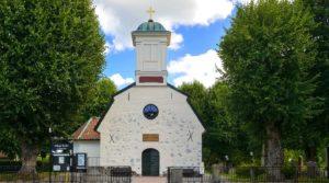Lidingö kyrka. Foto Eddie Granlund 2013.