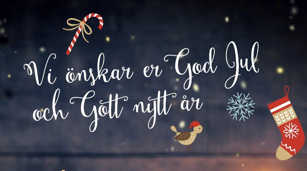 önskar God Jul